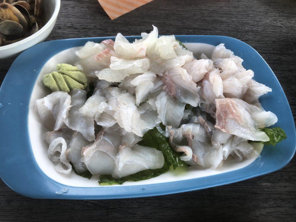 獲れたて魚料理